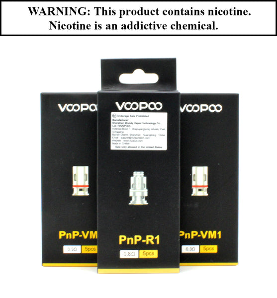 VooPoo - PnP Replacement Coil (Sold Invidually)