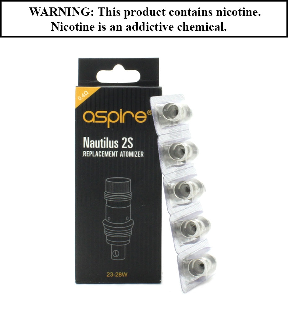 Aspire - Nautilus 2s BVC Replacement Coil (Sold Individually)