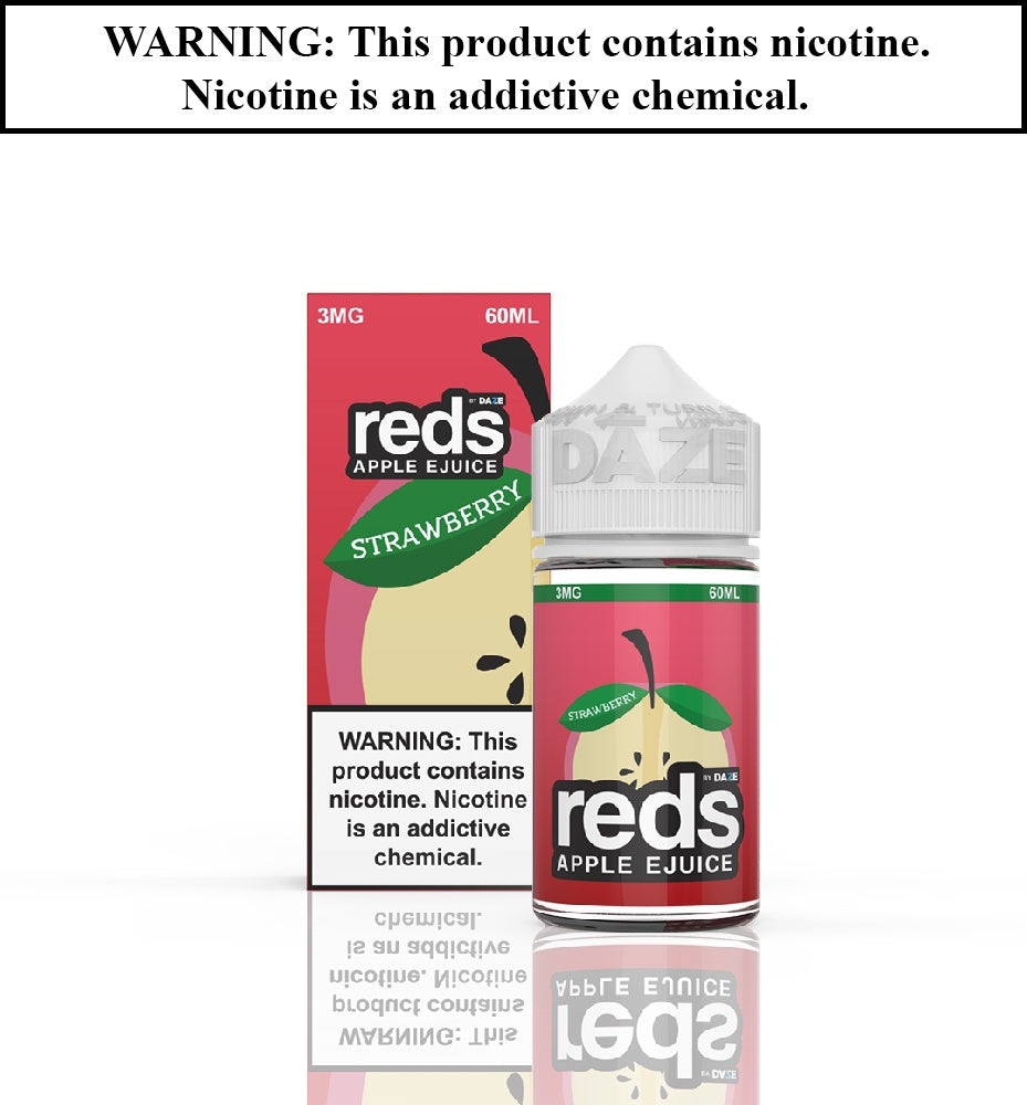 Reds Apple Ejuice - Strawberry