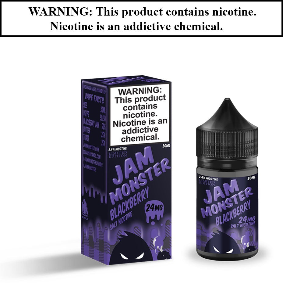 Jam Monster SALT - Blackberry
