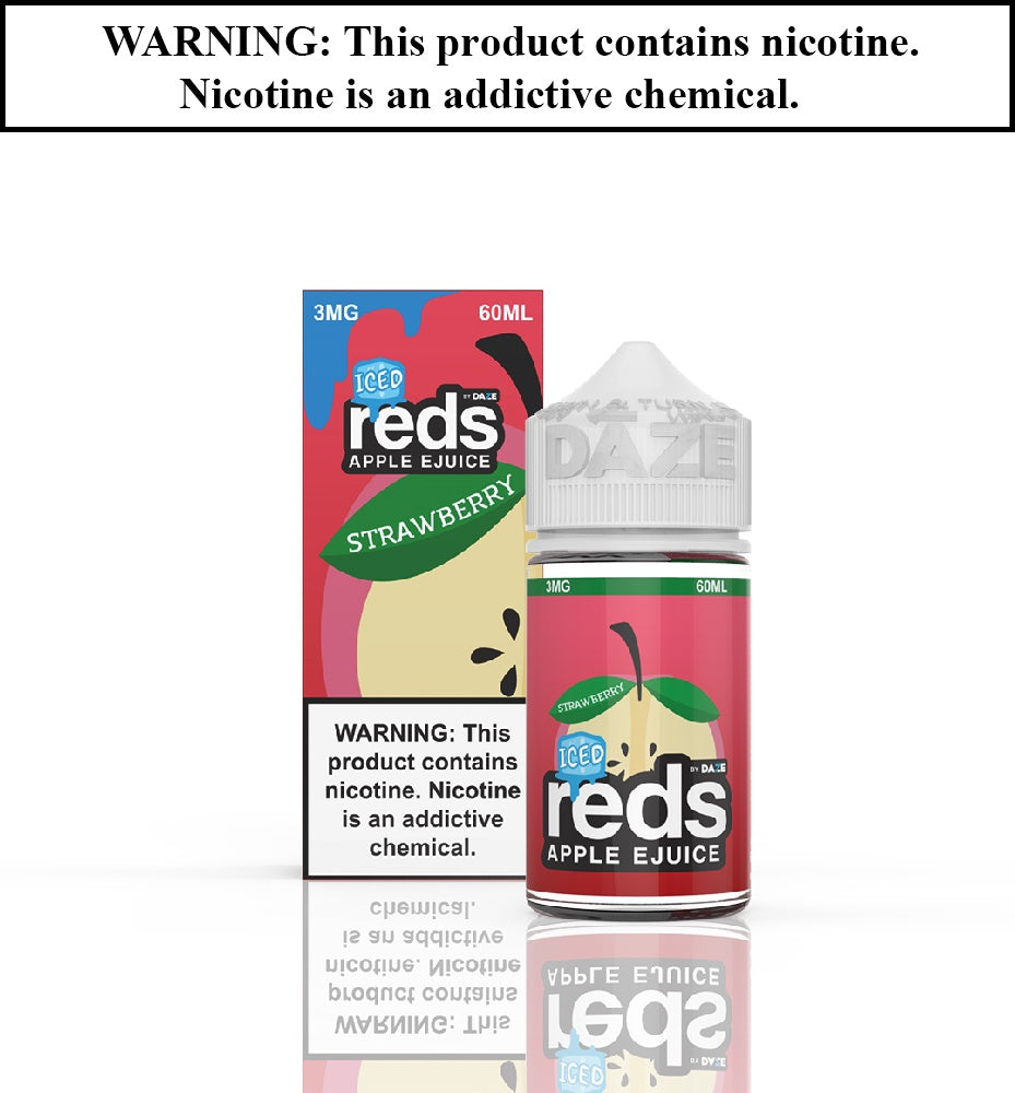 Reds Apple Ejuice - Strawberry ICED