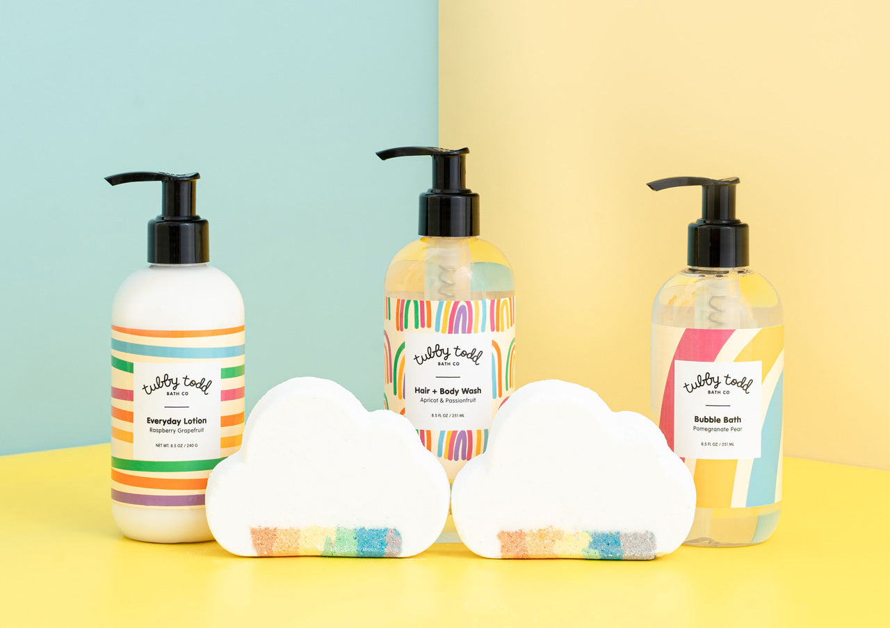 The Tubby Rainbow Gift Set: