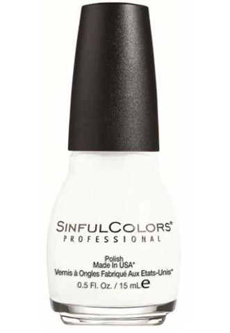 best white nail polish sinful colors