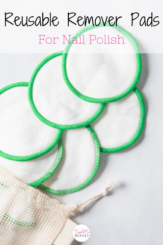 best nail polish remover pads reusable