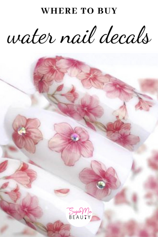 water nail decals