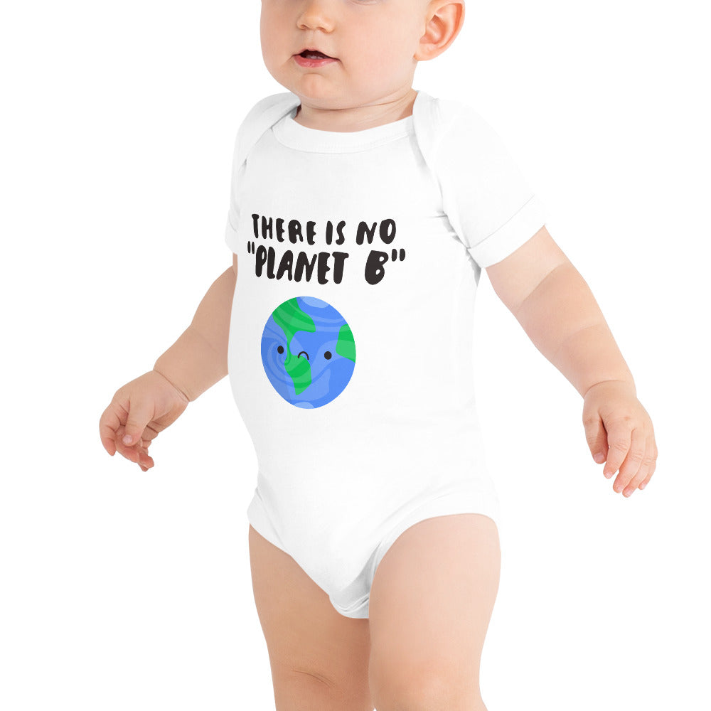 "100% Cotton ""Planet B"" Baby Bodysuit"
