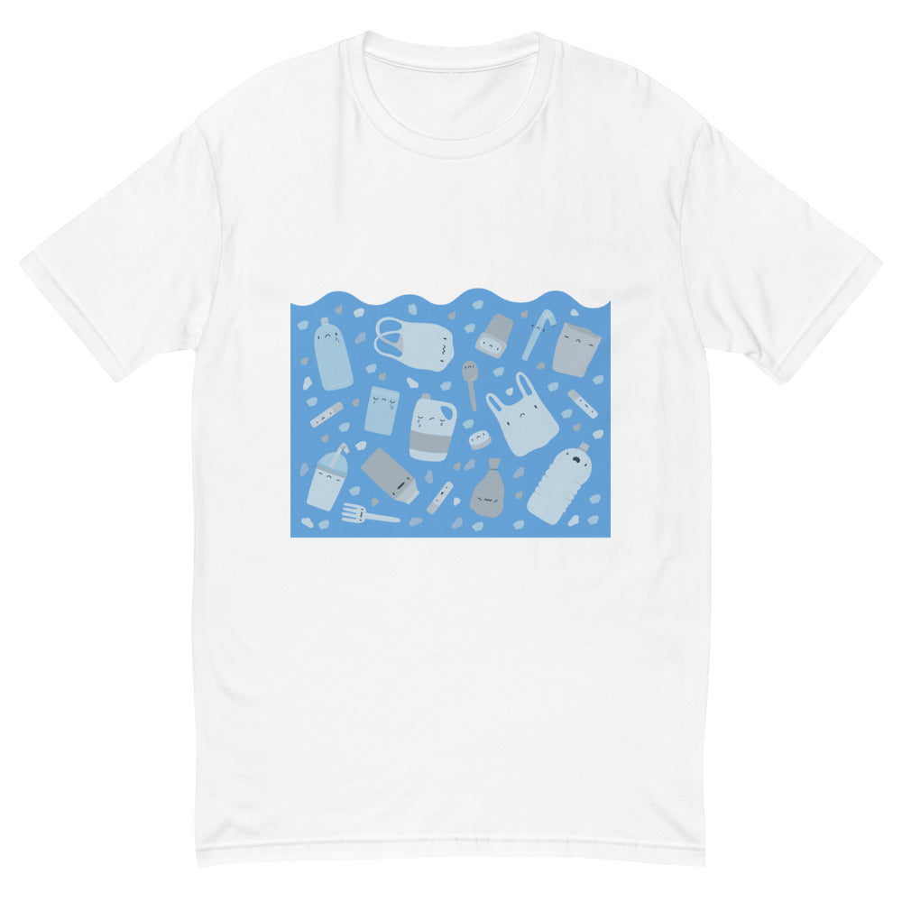 "Men's Short Sleeve ""Sad Plastic"" T-shirt"