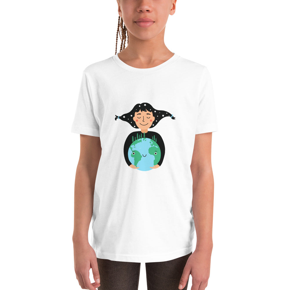 "Youth Short Sleeve ""Happy Planet"" T-Shirt"
