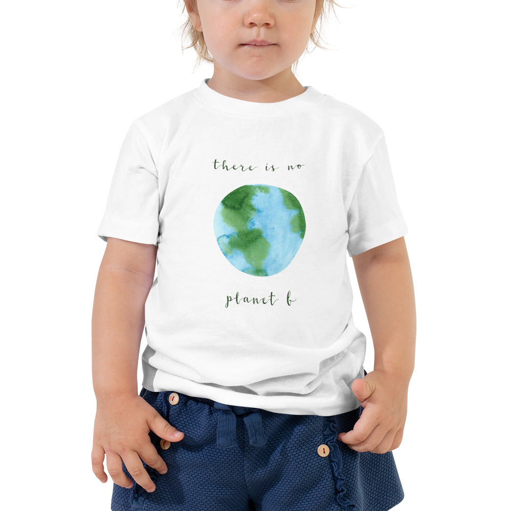 "Toddler Short ""Planet B"" Sleeve Tee"