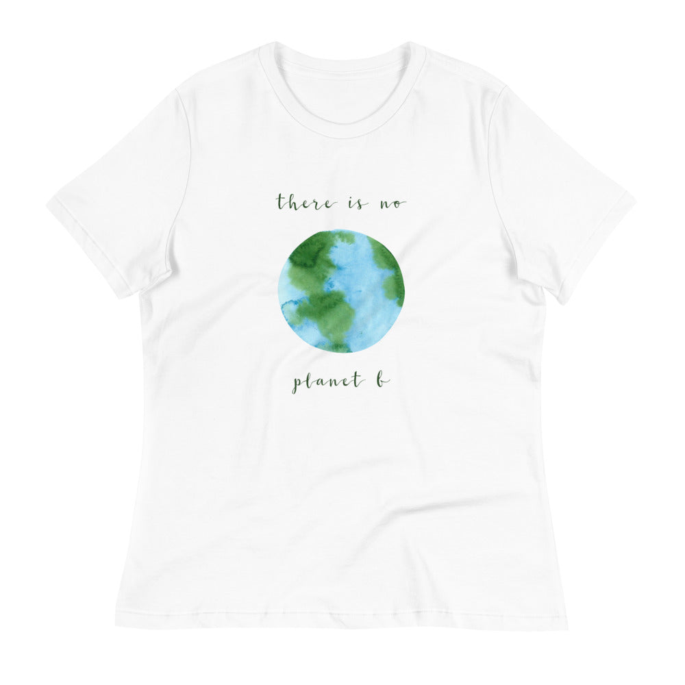 "Women's Relaxed ""Planet B"" T-Shirt"