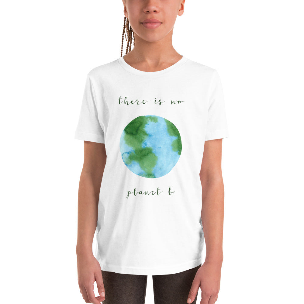 "Youth Short Sleeve ""Planet B"" T-Shirt"