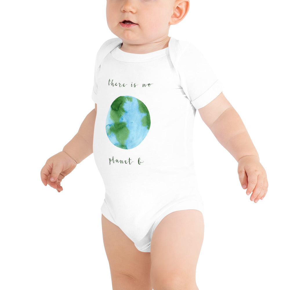 "100% Cotton Baby ""Planet B"" One Piece"