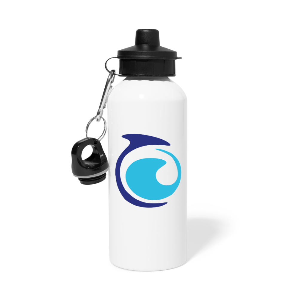 Aluminium Water Bottle - white