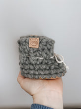 Load image into Gallery viewer, Wool booties - BLUSH
