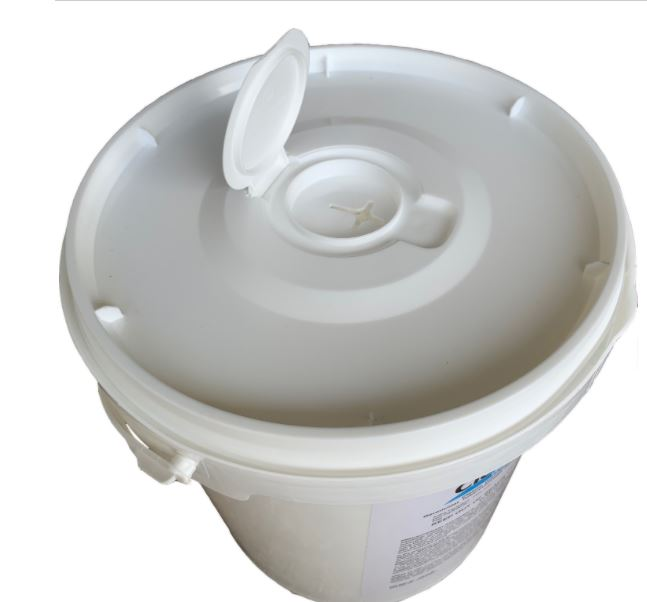 CleanCide Disinfecting Wipes 400ct Dispenser Bucket