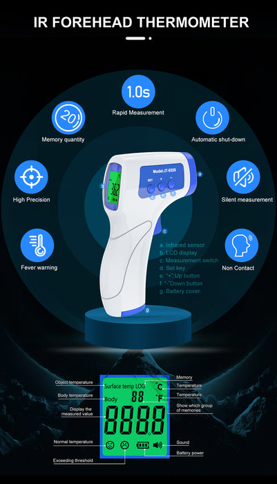 Touchless Infrared Thermometer