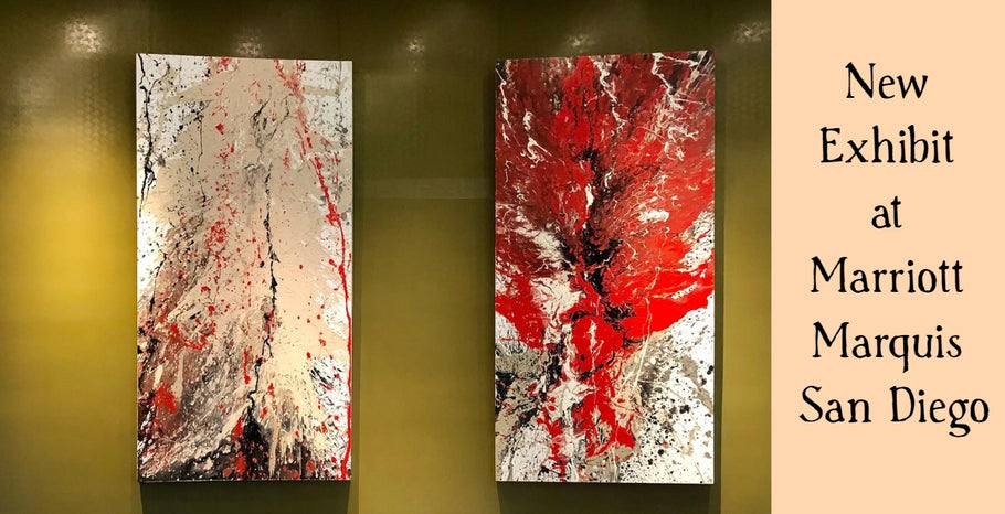 SALAZAR Paintings on Exhibit at Marriott Marquis San Diego