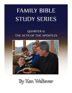 Quarter 12 - The Acts of the Apostles