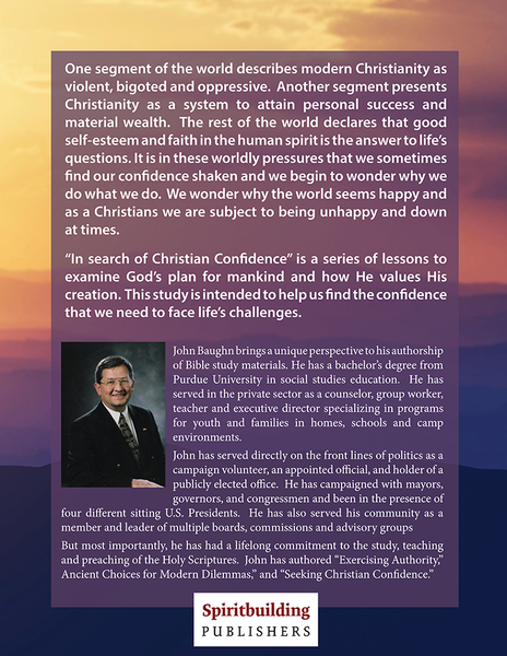 In Search of Christian Confidence