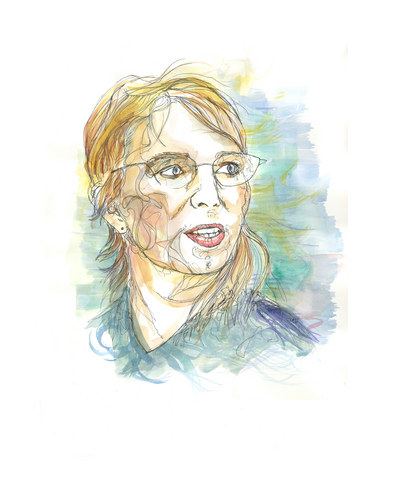 Chelsea Manning - Portrait by Fasto