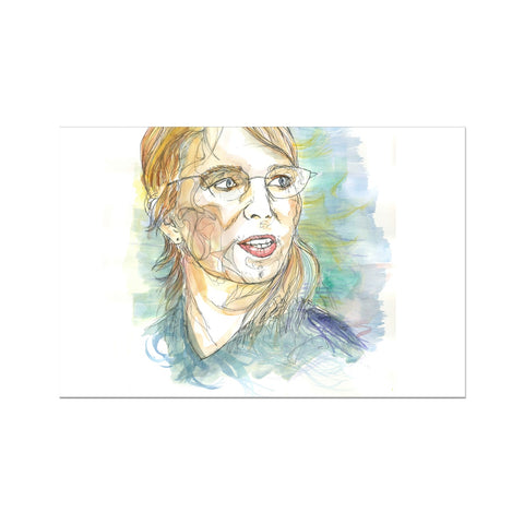 Chelsea Manning - Portrait by Fasto Hahnemühle German Etching Print