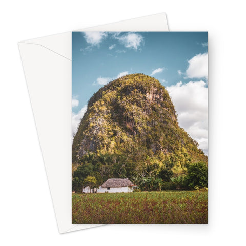 Cuba Back Country Mountain Greeting Card