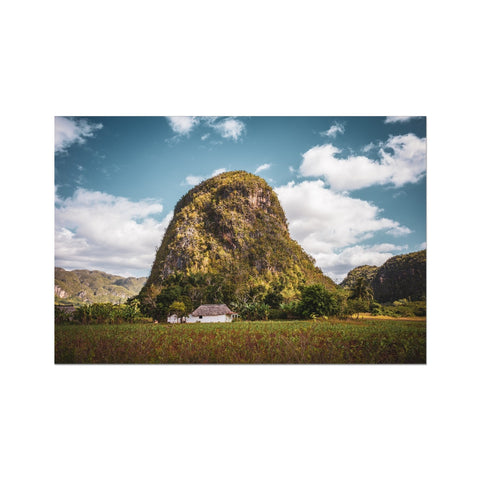 Cuba Back Country Mountain Photo Art Print