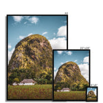 Cuba Back Country Mountain Framed Print