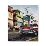 Cuba Original Car Canvas