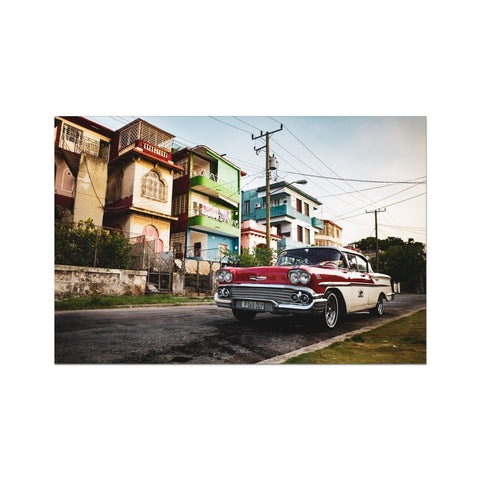 Cuba Original Car Photo Art Print