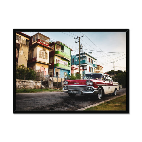 Cuba Original Car Framed Print