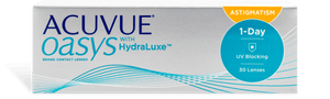 ACUVUE OASYS 1-Day for ASTIGMATISM  with HydraLuxe 30 Pack