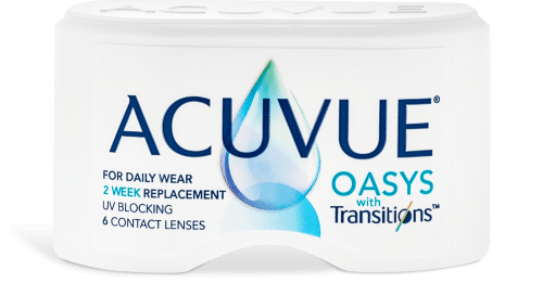 ACUVUE OASYS with TransitionsTM 6 Pack