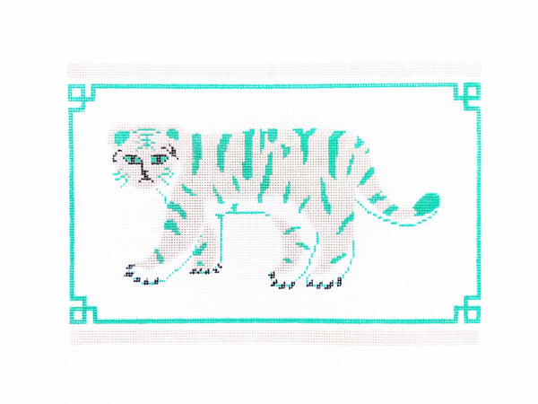 Preppy Tiger Clutch - AudreyWu Designs