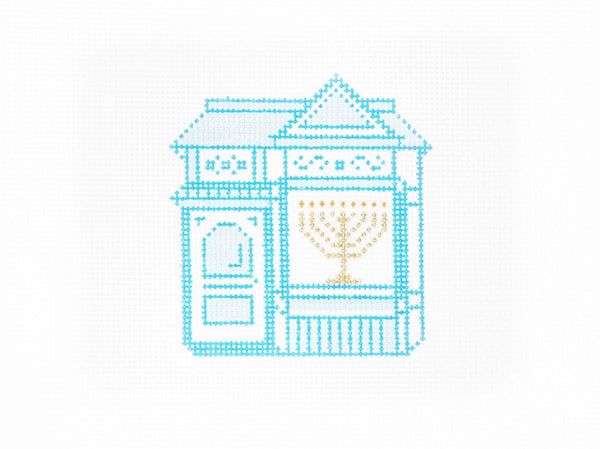 Painted Lady - Hanukkah Edition - AudreyWu Designs