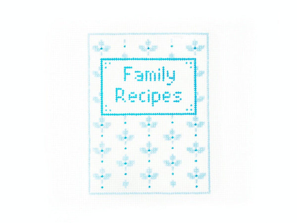 Family Recipes - AudreyWu Designs