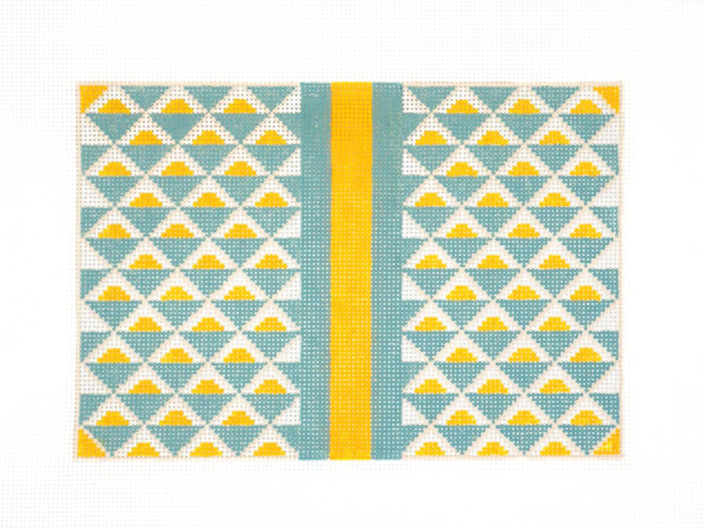 Sunrise Geometric Clutch - AudreyWu Designs
