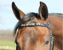 Load image into Gallery viewer, QHP Browband Unique Black