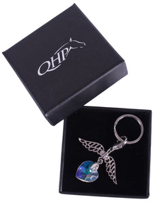 "QHP Bridle Charms ""Wings"""