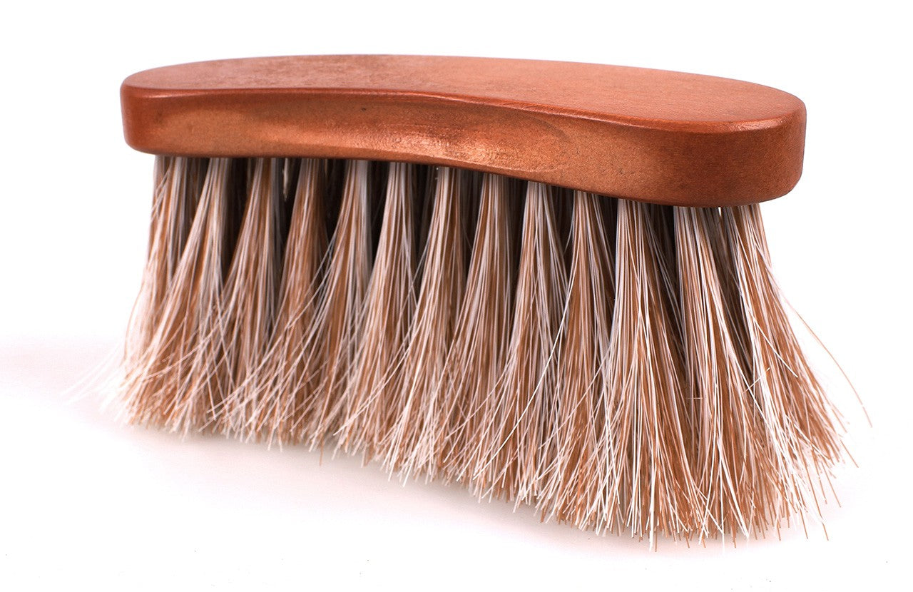 QHP Curved Dandy Brush Timber