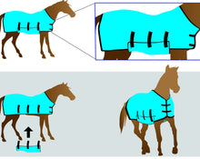Load image into Gallery viewer, Equi Cool Down DeLuxe Body Wrap