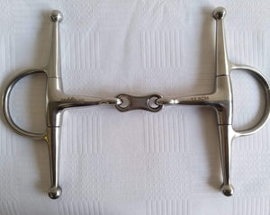 Saddle-Up Full Cheek French Stainless Steel