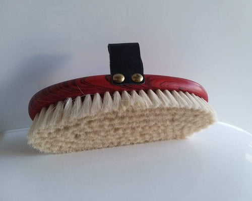 Saddle Up Body Brush Soft Goat