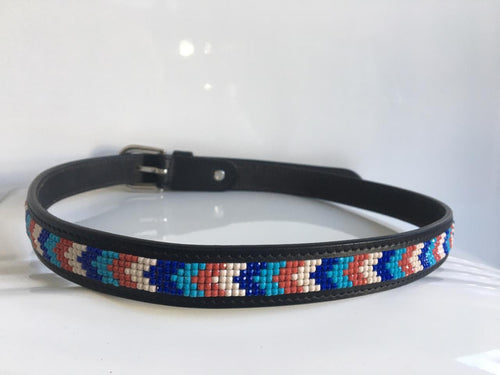 Ascot Belt with Beads