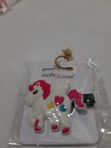 Bright Coloured Unicorn Hair Clip