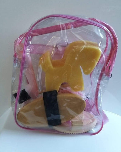 Saddle Up Grooming Bag Plastic