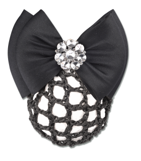 Waldhausen hairnet with clip with double bow