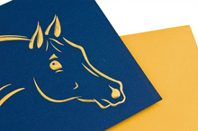 "Load image into Gallery viewer, Greeting Cards ""Horse Heads"""