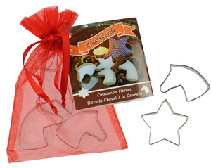 "Cookie Cutter ""Cinnamon Horses"" Set of 3"