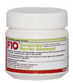 F 10 Germicidal Barrier Ointment